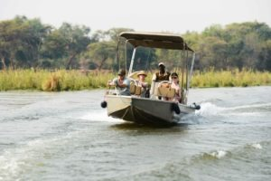 zambia lower zambezi sausage tree camp boat transfer