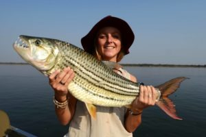 zambia lower zambezi sausage tree camp tiger fishing