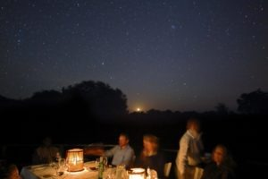 zambia luangwa valley Kakuli under star dining