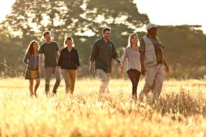 zambia south luangwa walking safari group photo