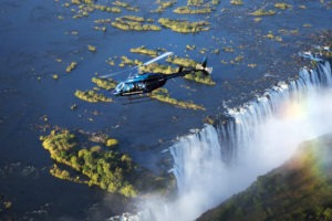 zimbabwe victoria falls helicopter tour over falls
