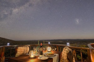 12Etosha Mountain Lodge Dinner under the stars