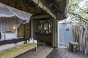 Onguma Tree Camp Bed room