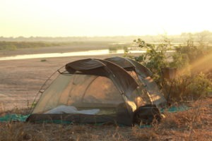 gonarezhou walking safaris dome sunrise