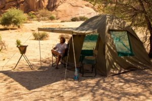 mobile camp dome ultimate safaris guest