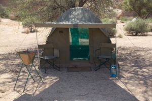 mobile camp dome ultimate safaris outside