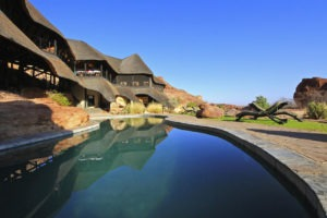 twyfelfontein country lodge pool