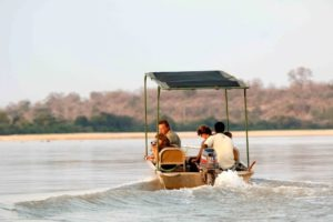 kiba point selous boating