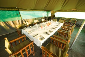 naabi green camp dining table