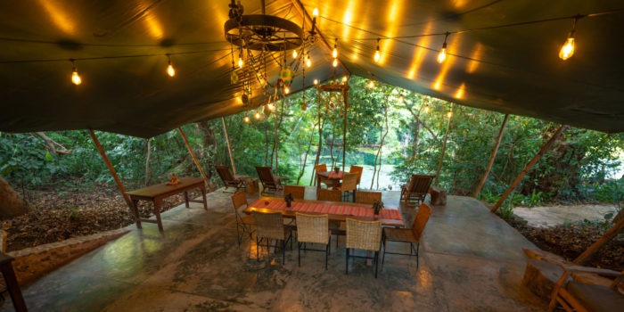 ngare sero mountain lodge private dining