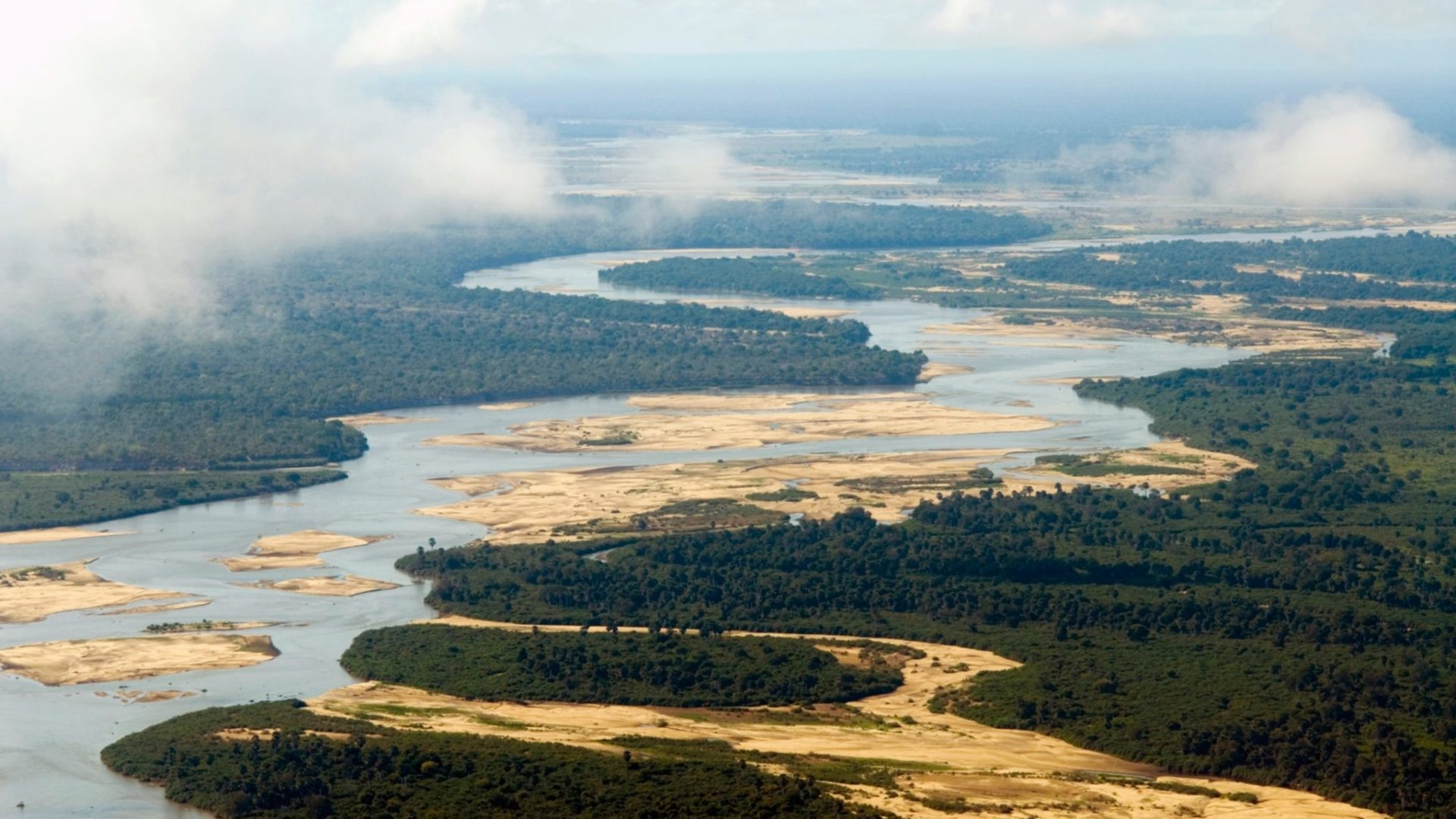 sand rivers selous landscape