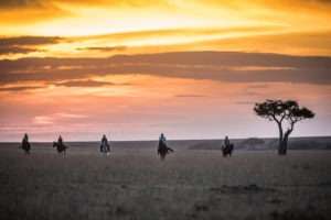 18 Riding out in the Mara