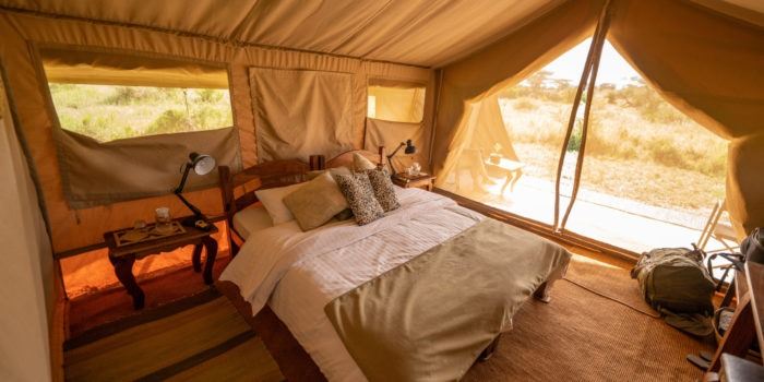 pembezoni camp serengeti double tent