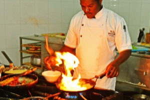 primate lodge kibale chef