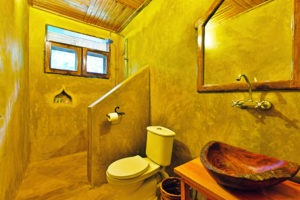 primate lodge kibale standard bathroom