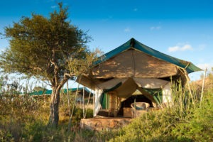 Front of Tent Lge Laikipia Wilderness