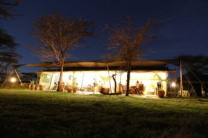 Kicheche Bush Camp at nightMasai Mara