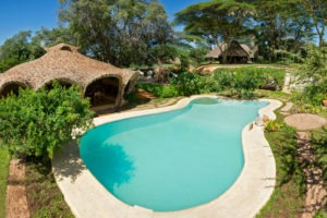 Lewa House pool laikipia