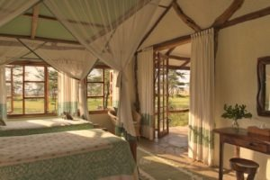 Masai Mara Topi House two single beds MR