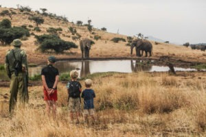 kids Walk Lewa House Laikipia