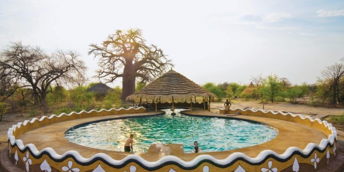 planet baobab botswana pool