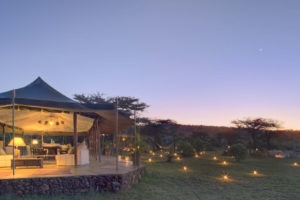 Richards Camp Masai Mara Dining tent exterior 3