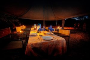 Okavango Expeditions Dining tent