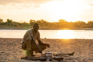 luambe camp sundowners zambia sundowners sunset