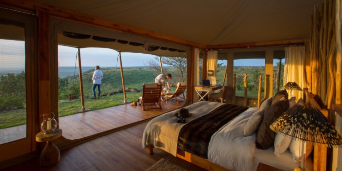 Loisaba Tented Camp Double Room 2 c Silverless