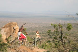 Loisaba Tented Camp Mountain biking c Elewana Collection