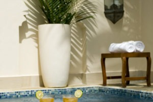 baraza resort and spa zanzibar private plunge pool