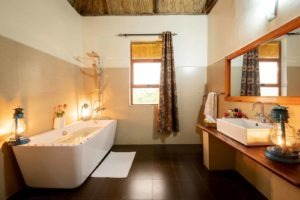 crater safari lodge uganda chalet bathroom
