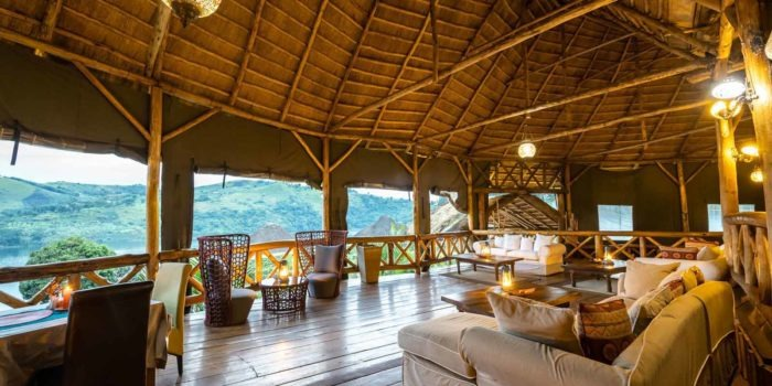 crater safari lodge uganda views lounge