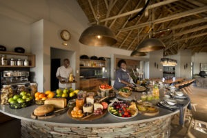 rockfig safari lodge timbavati buffet