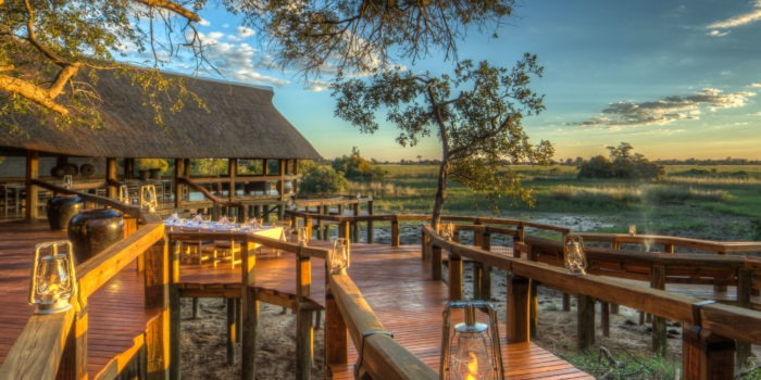 Camp Okavango Main Deck View