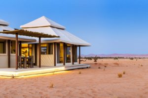Dead Valley Lodge tented accommodation