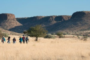 Etendeka Mountain Camp bush walk 2