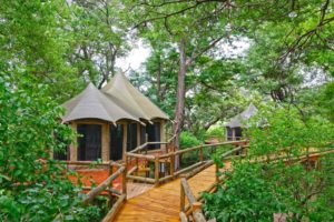 Nambwa Tented Lodge accommodation
