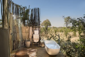 botswana okavango delta sable alley honeymoon bath