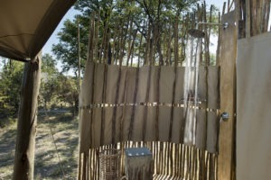 botswana okavango delta sable alley shower
