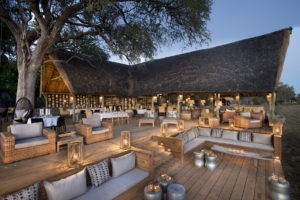 botswana okavango delta sable alley sunset lounge