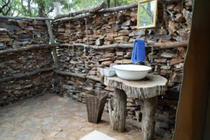 selati tented camp south africa bathroom