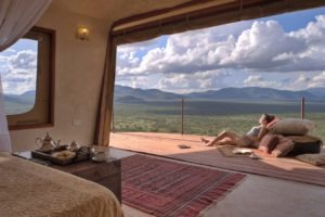 Relaxing afternoon in Villa 6 Saruni Samburu Kenya
