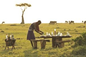 Saruni Wild Al fresco among the wildlife Saruni Masai Mara Kenya