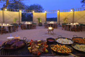 kirkmans camp sabi sands south africa boma