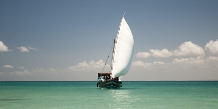 mozambique ibo island dhow sailing