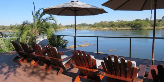 Shametu River Lodge Namibia sun deck