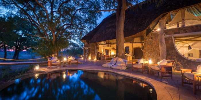 zambia south luangwa national park luangwa safari house private house 14